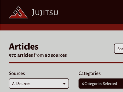 Jujitsu Articles