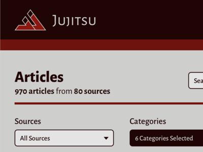 Jujitsu Articles