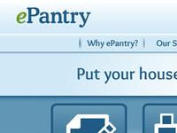 ePantry Landing