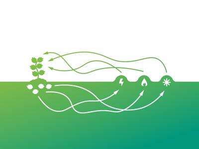 Renewable Energy sustainability illustration energy green