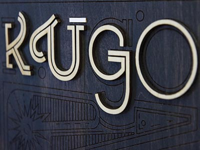 Sign design kugo laser rva signmaking sign