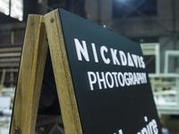 Nick Davis / Filmspire Sidewalk Sign