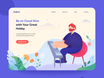 Landing Page - Be on Cloud Nine