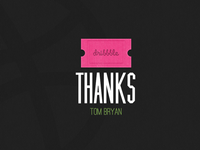 Thank You Tom