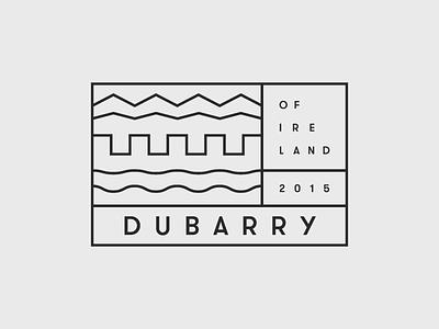 Dubarry Of Ireland logo dubarry of ireland rebrand black merlon sea country school project
