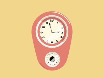 WIP - Vintage Wall Clock