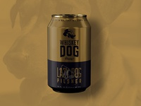 Whiskey Dog Brewing Pilsner Can