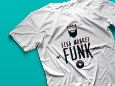 Flea Market Funk T-Shirt t-shirt typography icons logos