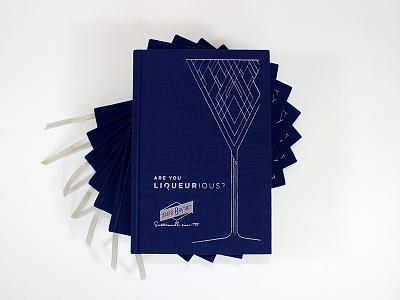 Marie Brizard Book Design cocktail book book cover book printing book design