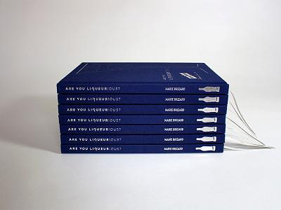 Marie Brizard Book Design cocktail book design layout design book printing book design
