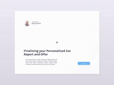 Car Inspection App app ipad ios white design 2d clean ux ui