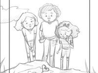gk cover sketch