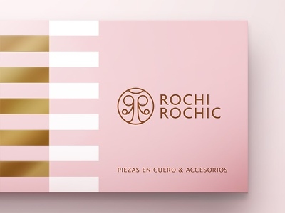 Rochi Rochic Logotype r monogram type ladybug branding brand logotype logo