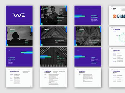 WeKall Brandbook logotype visual identity brand identity logo brand branding brandbook