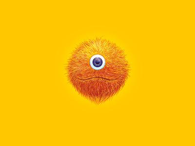 Petoso orange yellow identity character handmade illustration monster branding logo design logotype