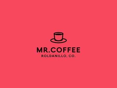 Mr.Coffee colombia logodesign identity logotypes logo coffee shop coffee cup coffee