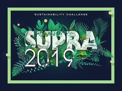 Supra2019 Identity birds font type green identity design lubalin logotype festival logo festival entrepreneur identity