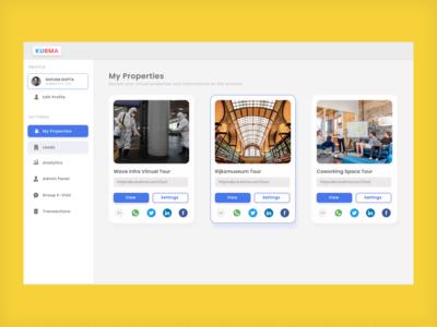 Minimal Dashboard Design website minimal web typography ui design