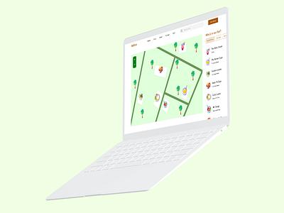 Fall Festival Map uxui xddailychallenge design webdesign ui ux fall festival map