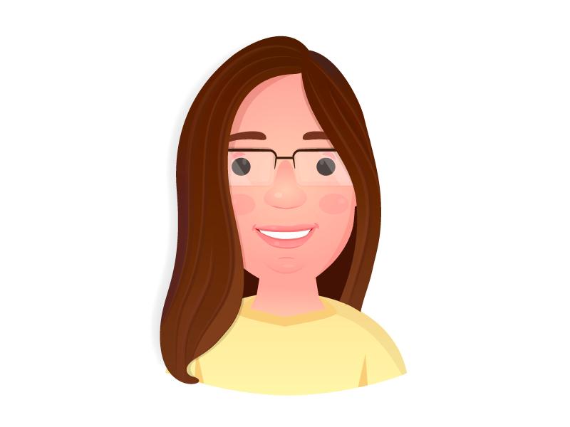 Avatar Elaine character design avatar illustration