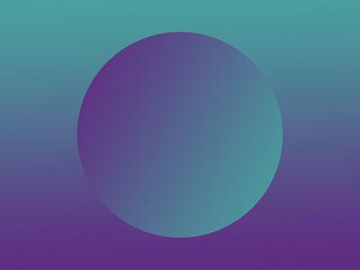 Simple geos & gradients #1 geometric gradient