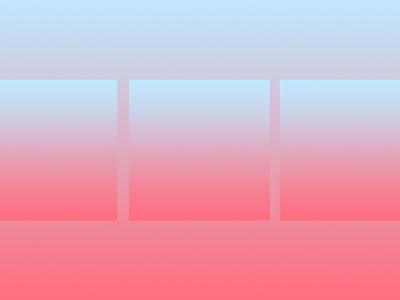 Simple geos & gradients #2 gradient geometric