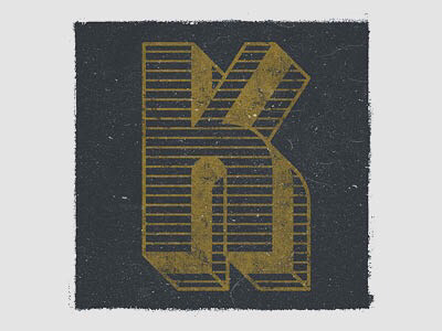 36 Days of Type | K truegrit texture typedesign handlettering lettering letters typography type 36daysoftype05 k 36daysoftype 36days-k