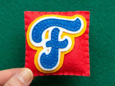 F / Farland farland felt sewing handmade 36daysoftype