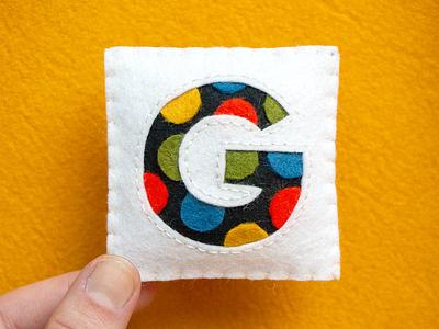G / Gilroy gilroy felt sewing handmade 36daysoftype