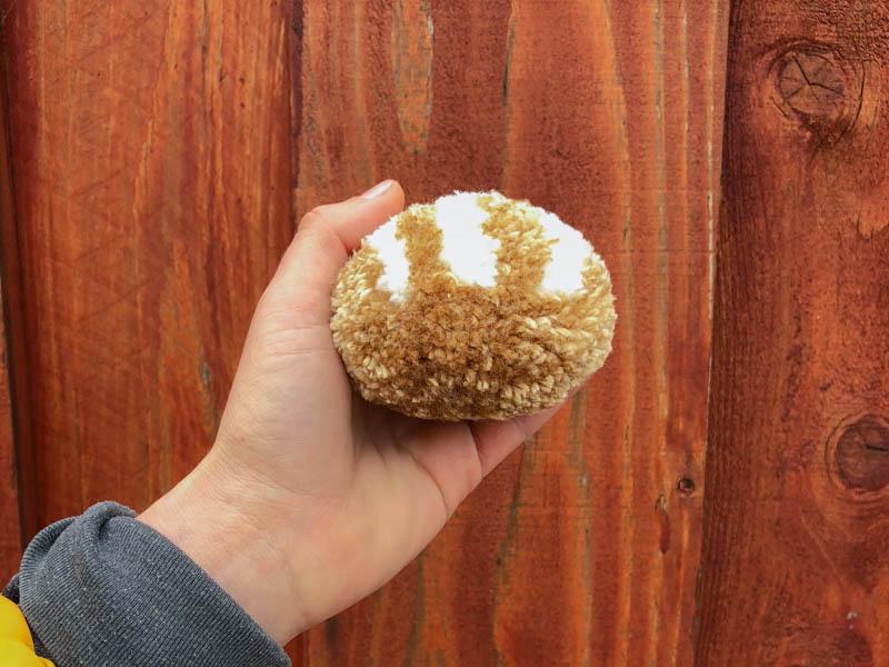 021 🥖 handmade loaf bread yarn pom-pom the100dayproject
