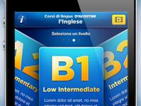 L'inglese - UI app