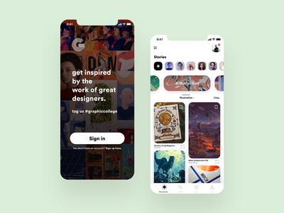 Graphiccollege App