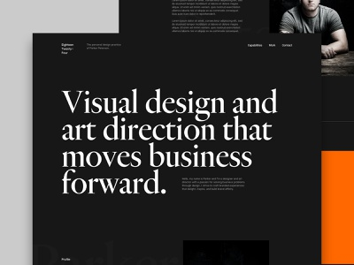 Portfolio Progress portfolio ux art direction branding grid type ui design layout typography