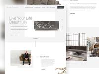 Interior Firm Website