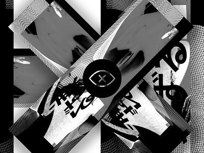 1824 Promo 2 digital texture mesh design parker peterson 1824 dallas black  white poster promotion logo branding mark digital art