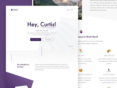 Capital Group Culture Microsite parker peterson ui design minimal ux ui modern clean finance capital culture web design web layout typography brand