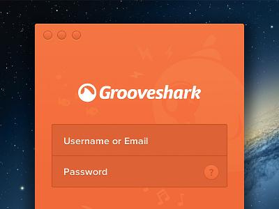 Grooveshark for Mac Login grooveshark widget music song share playlist player