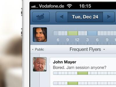 spurfly iphone UI iphone ui ios