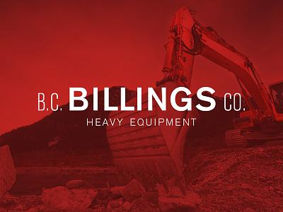 Branding Heavy Equipment industrial red brand heavy equipment construction sans logo