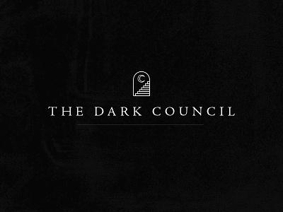 Dark Council Logo dark metal heavy metal icon monoline identity logo death metal