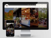 Horizontal Accordion Homepage