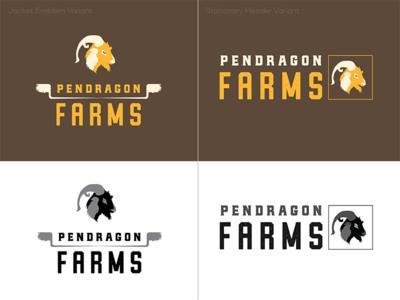 Pendragon Logo Variants