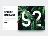 92 Uncle, Like Design