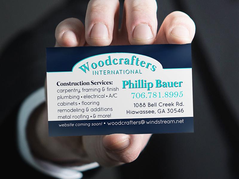 Woodcrafters international business card design by grace patterson woodcrafters international business card design by grace patterson dribbble colourmoves