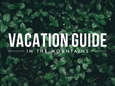 Vacation Guide Logo Design