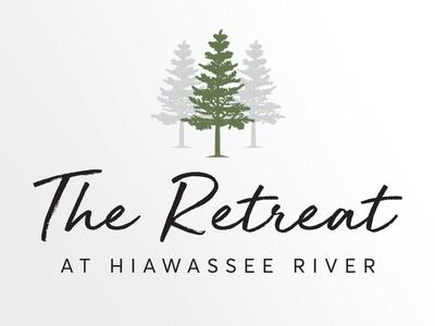 The Retreat at Hiawassee River Logo Design