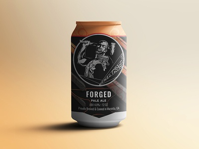 Ironmonger: Forged Beer Can Design