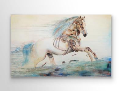 Freedom, Acrylic Painting