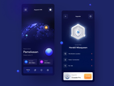 Asguard VPN 🌏 connection save networking networks network private virtual dark app dark ui dark anonymous location upgrade utilities utility upload download ip address vpn app vpn