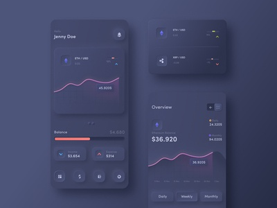 Dashboard Cryptocurrency